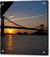 New York City Sunrise Acrylic Print