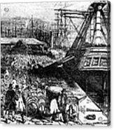 New York: Immigrants, 1854 Acrylic Print