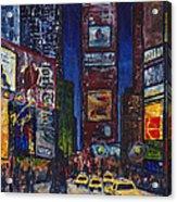 New York Nights Acrylic Print