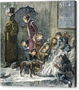 New York: Poverty, 1876 Acrylic Print by Granger