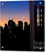 New York Reflections Acrylic Print