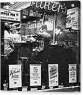 New York: Restaurant, 1948 Acrylic Print