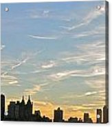 New York Sunset 2 Acrylic Print