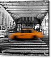 New York Taxi 1 Acrylic Print
