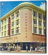 Newberry's Department Store In El Paso Tx In The 1950's Acrylic Print