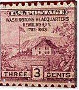 Newburgh Ny Postage Stamp Acrylic Print
