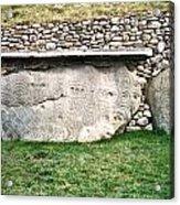 Newgrange Runes Acrylic Print