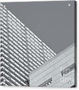 Newseum Contrasting Facades II Acrylic Print