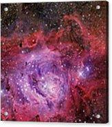 Ngc 6523, The Lagoon Nebula Acrylic Print