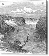 Niagara Falls, 1849 Acrylic Print
