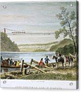 Niagara Falls Bridge Acrylic Print
