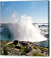Niagara Falls From Above Acrylic Print