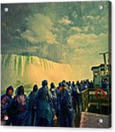 Niagara Falls From The Deck Maid Of The Mist Acrylic Print