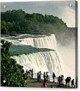 Niagara Falls State Park Acrylic Print by Mark J Seefeldt