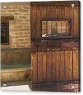 Nice Old Door Acrylic Print