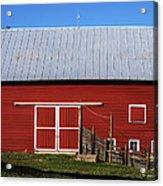 Nice Red Barn Acrylic Print