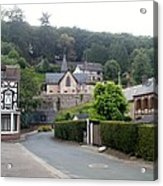 Nice Village In Normandy Acrylic Print