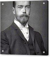 Nicholas II From Russia Acrylic Print
