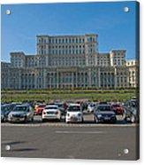 Nicolae Chaushesku Palace Acrylic Print