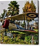 Nieuport 28 Acrylic Print