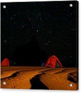 Night Camp Acrylic Print