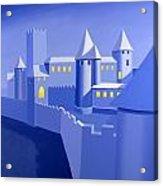 Night Castle Acrylic Print