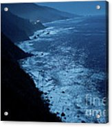 Night Magic In Big Sur Acrylic Print by Rossi Love