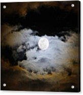 Night Of The Full Moon Acrylic Print