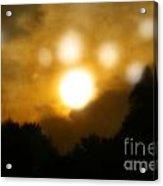 Night Sun Acrylic Print