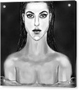 Night Swim Acrylic Print