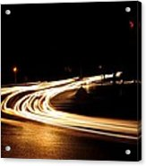 Night Traffic Acrylic Print