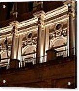 Nighttime Palace Acrylic Print