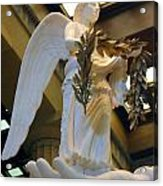 Nike Goddess Of Victory Acrylic Print by Linda Phelps