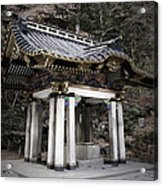 Nikko Architecture Acrylic Print