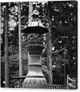Nikko Sculpture Acrylic Print