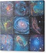 Nine Nebulae Acrylic Print