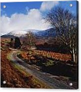 Nire Valley Drive, County Waterford Acrylic Print