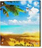 Nixo Landscape Beach Acrylic Print