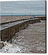 No Boats Today Acrylic Print by David  Hollingworth