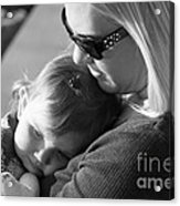 No Bond Like A Mother And Daughter Acrylic Print