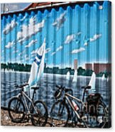 No Fossil Fuels Required Acrylic Print