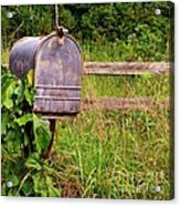 No Mail Today Acrylic Print