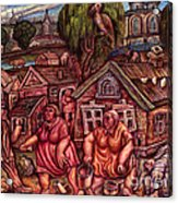 No Name II Acrylic Print by Vladimir Feoktistov