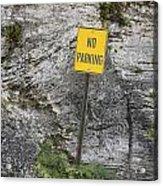 No Parking Acrylic Print