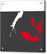 No073 My Rumble Fish Minimal Movie Poster Acrylic Print