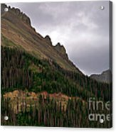 Nokhu Crags Colorado Acrylic Print by Michael Kirsh