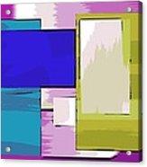 Nombre Abstrait 11 Acrylic Print