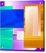 Nombre Abstrait 7 Acrylic Print