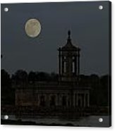 Normanton Church Moonlight Acrylic Print
