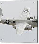 North American B-25j Mitchell N9856c Pacific Princess May 14 2011 Acrylic Print